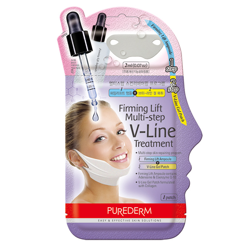 Own label brand, [PUREDERM] Firming Lift Multi-step V-Line Treatment 10g (Weight : 21g)