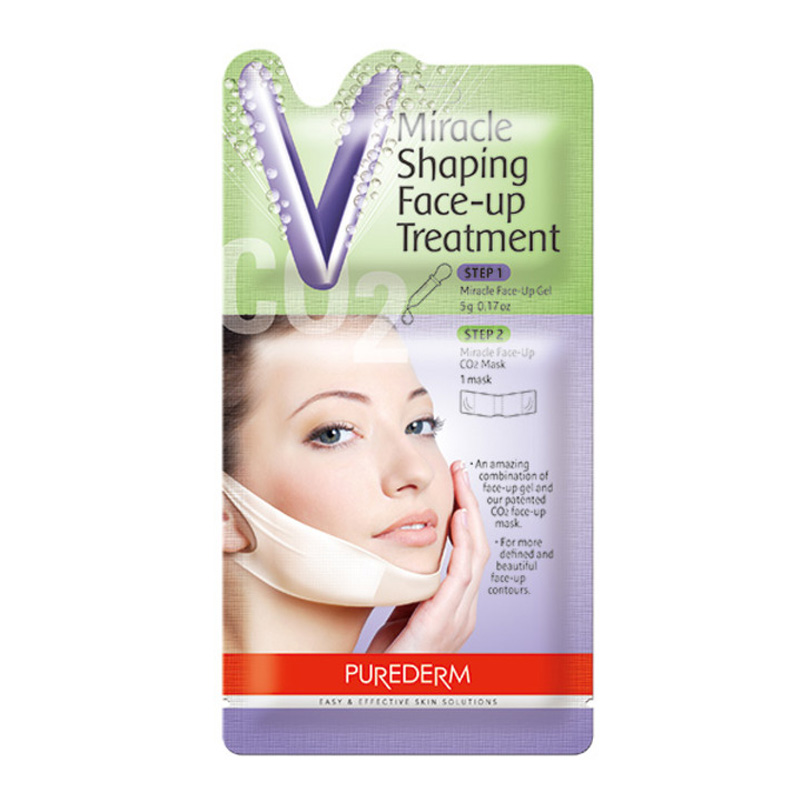 Own label brand, [PUREDERM] Miracle Shaping Face-up Treatment 5g (Weight : 16g)