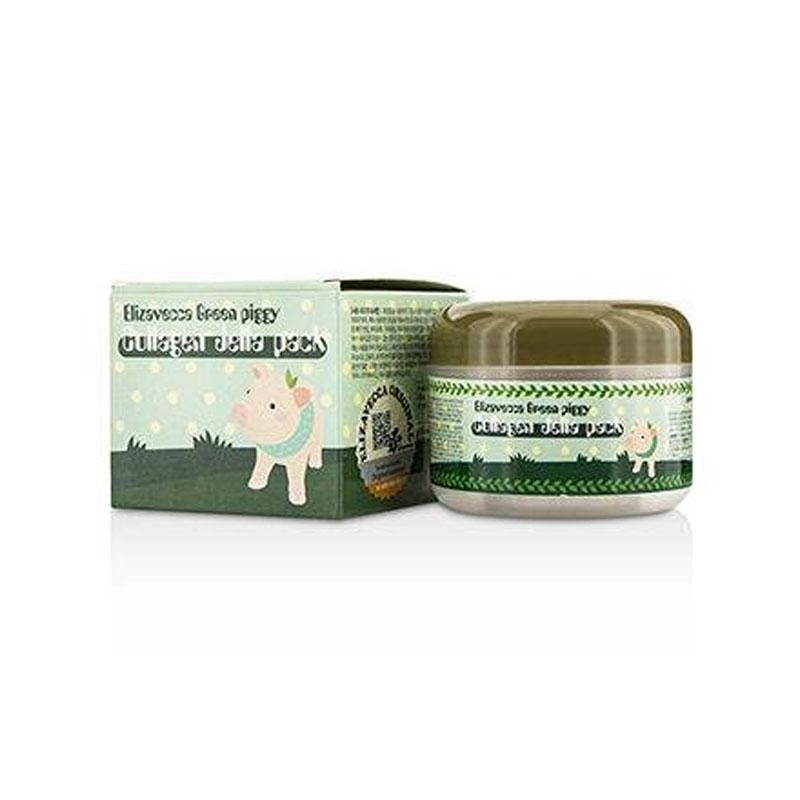 Own label brand, [ELIZAVECCA] Green Piggy Collagen Jella Pack 100g (Weight : 171g)