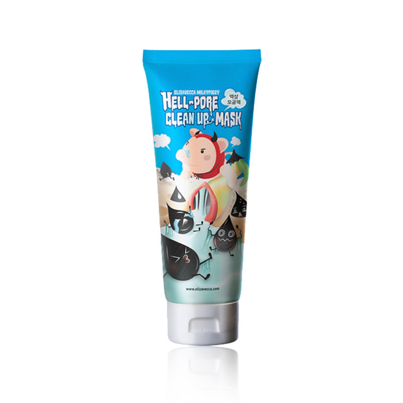 [ELIZAVECCA] Hell-Pore Clean Up Mask 100ml (Weight : 153g)