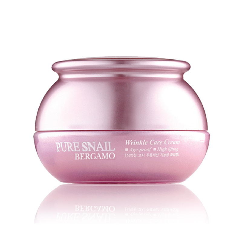 Own label brand, [BERGAMO] Pure Snail Wrinkle Care Cream 50g (Weight : 234g)