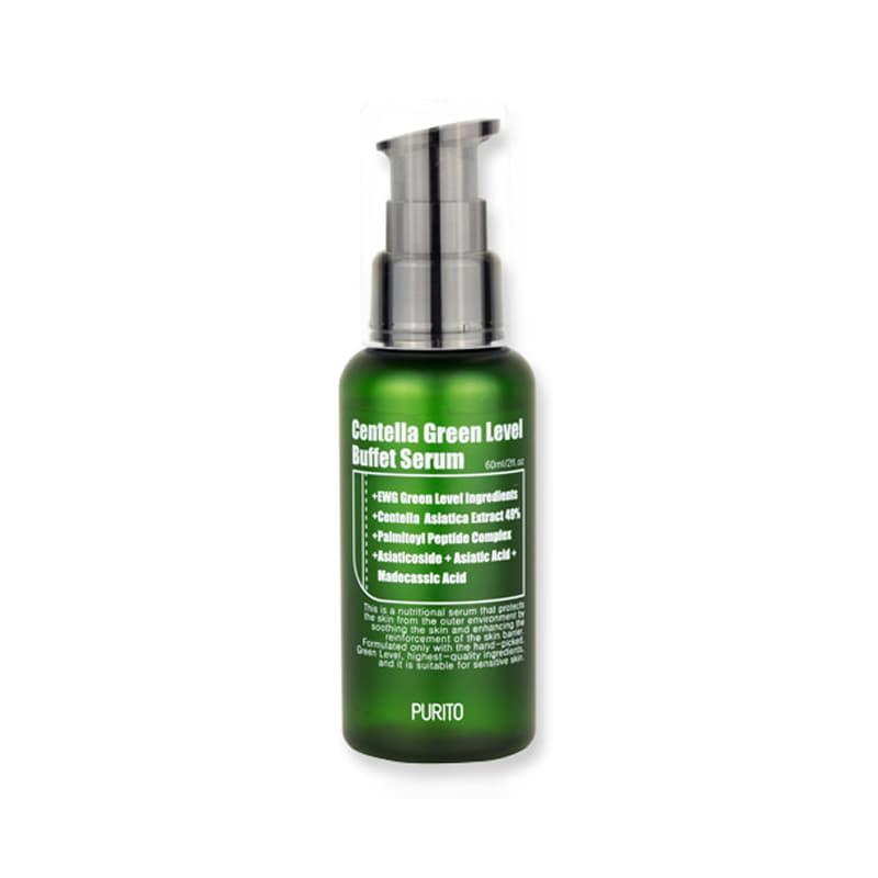 Own label brand, [PURITO] Centella Green Level Buffet Serum 60ml (Weight : 101g)