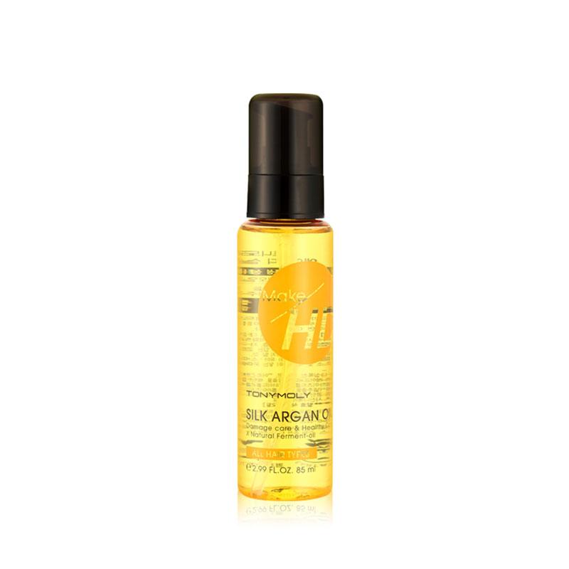 Own label brand, [TONYMOLY] Make HD Silk Argan Oil 85ml (Weight : 114g)