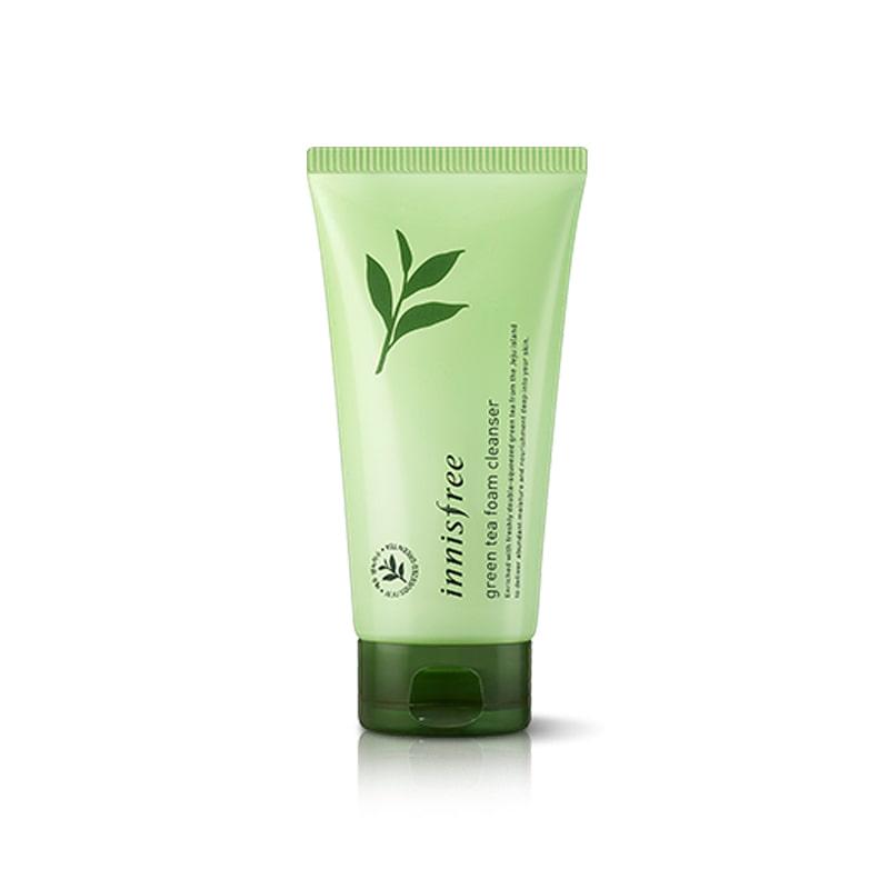 [INNISFREE] New Green Tea Foam Cleanser 150ml (Weight : 197g)