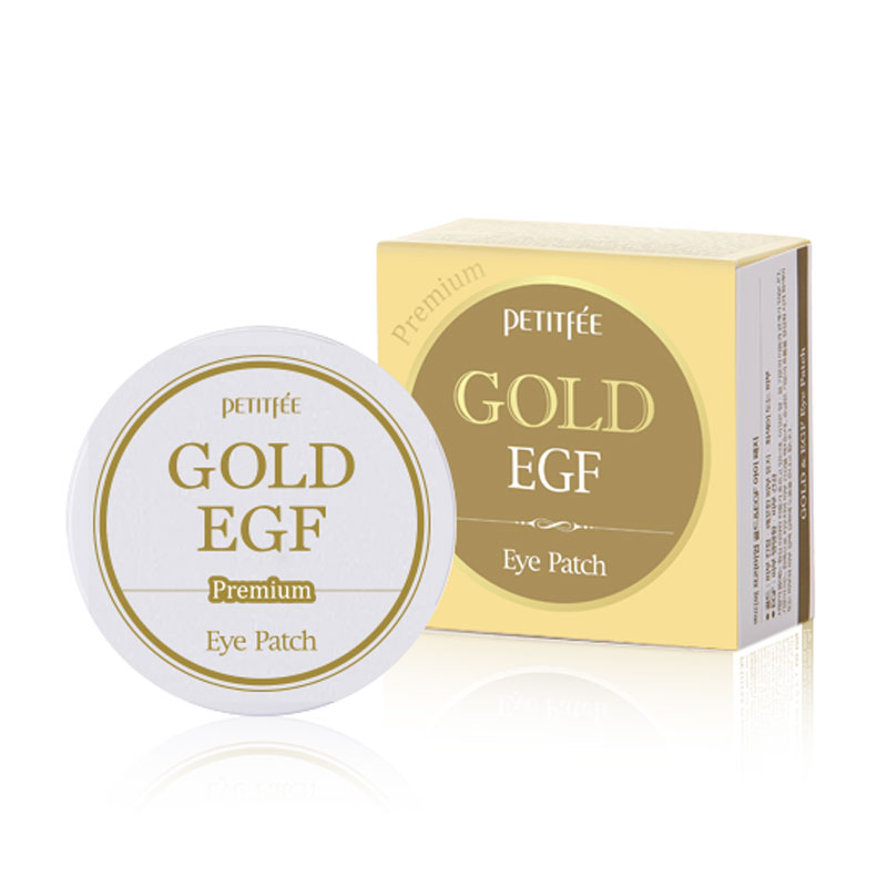 [PETITFEE] Premium Gold & EGF Hydrogel  Patch 1.4g * 60ea (Weight : 188g)