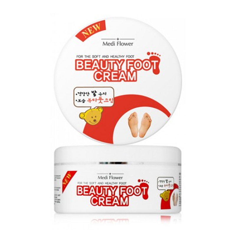 Own label brand, [MEDI FLOWER] Beauty Foot Cream 150g (Weight : 224g)