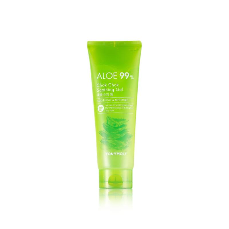 Own label brand, [TONYMOLY] Aloe 99% Chok Chok Soothing Gel 250ml (Weight : 289g)