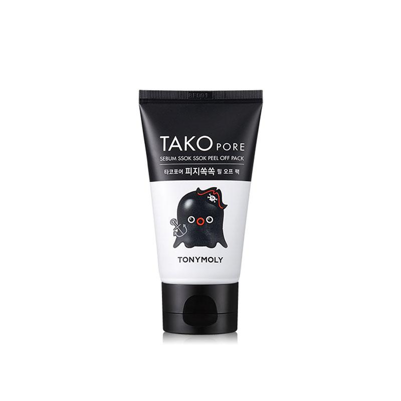 Own label brand, [TONYMOLY] Tako Pore Sebum Ssok Ssok Peel Off Pack 50ml (Weight : 85g)