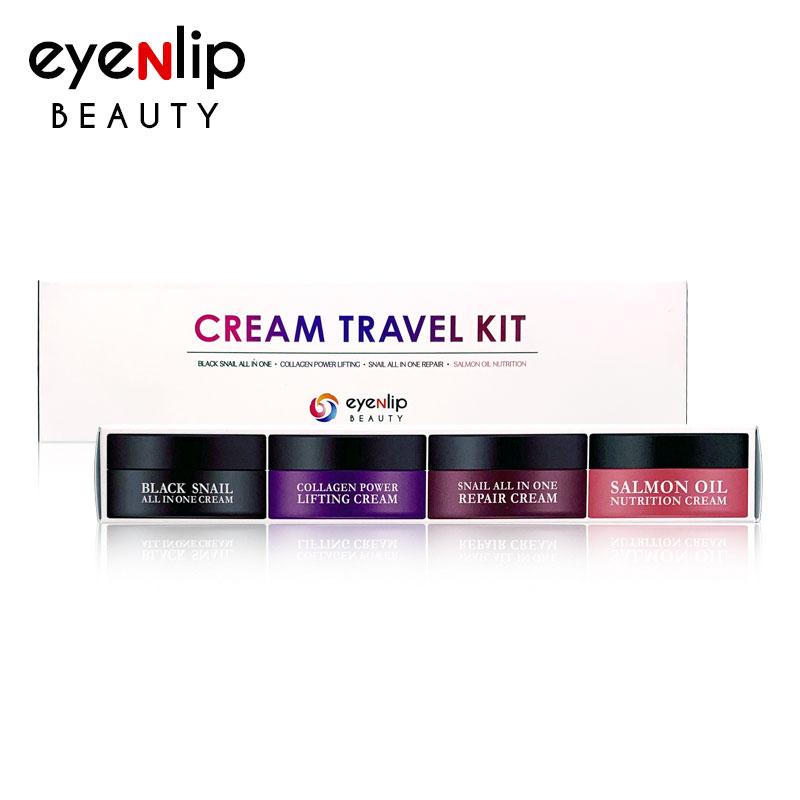 Own label brand, [EYENLIP] Cream Travel Kit (15ml * 4pcs) (Weight : 145g)