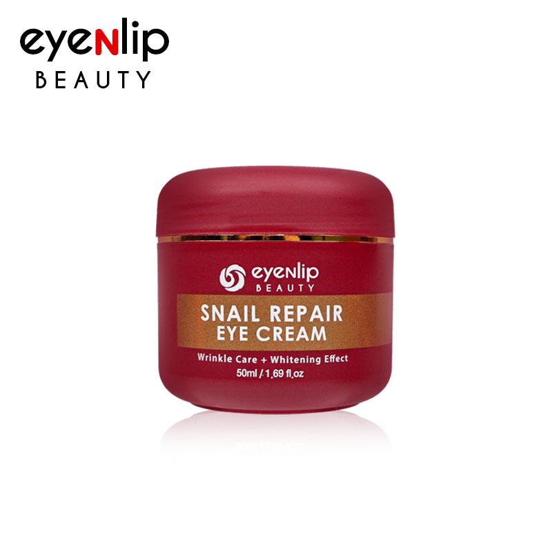 Own label brand, [EYENLIP] Snail Repair Eye Cream 50ml (Weight : 101g)