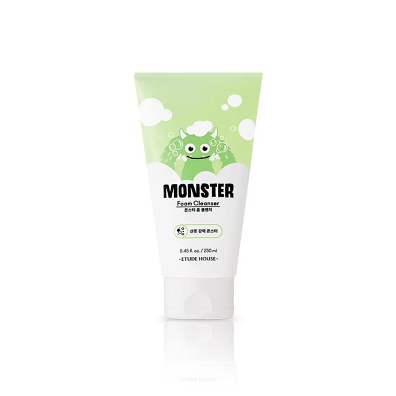 Own label brand, [ETUDE HOUSE] Monster Foam Cleanser 250ml (Weight : 310g)