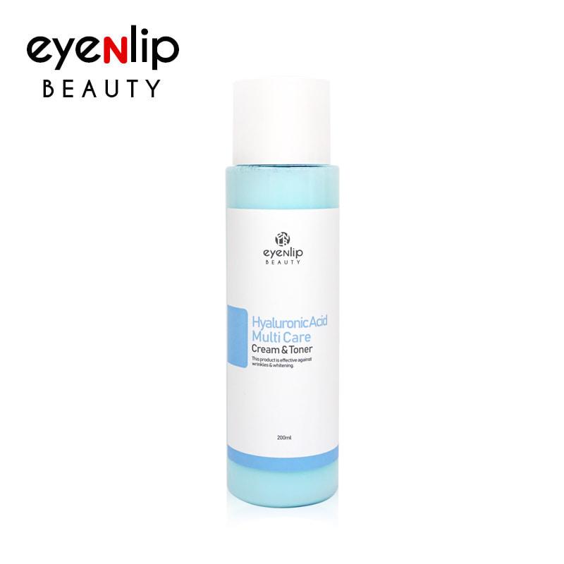 [EYENLIP] Hyaluronic Acid Multi Care Cream & Toner 200ml (Weight : 297g)