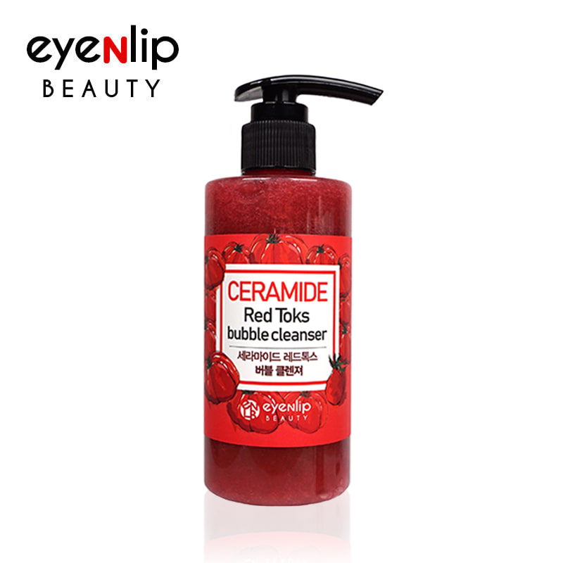 Ceramide Red Toks Bubble Cleanser 200ml