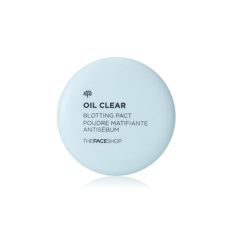 Own label brand, [THE FACE SHOP] Oil Clear Blotting Pact 9g (Weight : 56g)