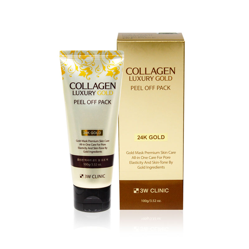Own label brand, [3W CLINIC] Collagen Luxury Gold Peel Off Pack 100g(Weight : 155g)