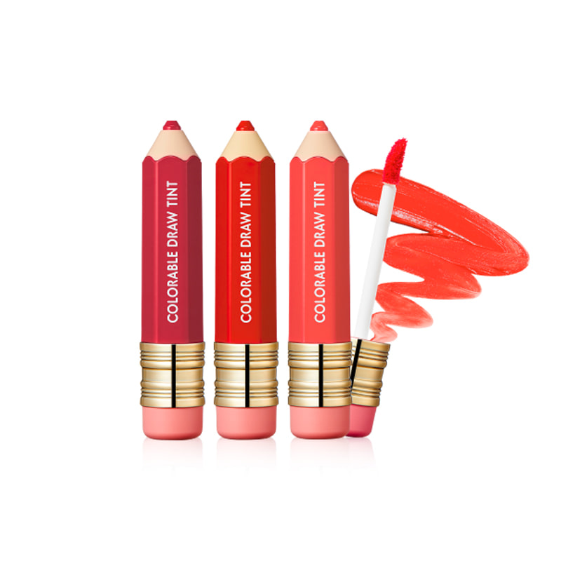 Own label brand, [IT'S SKIN] Colorable Draw Tint 3.3g 10 Color (Weight : 22g)