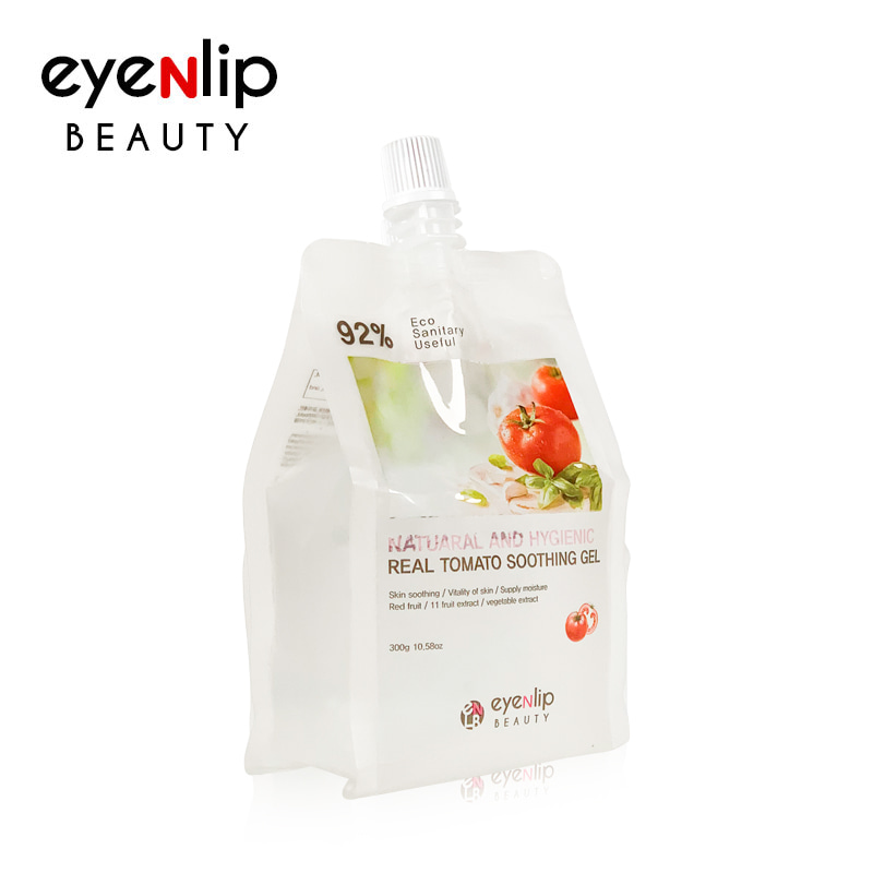 [EYENLIP] 92% Real Tomato Soothing Gel 300g - EXP 2022.08.19 (Weight : 323g)