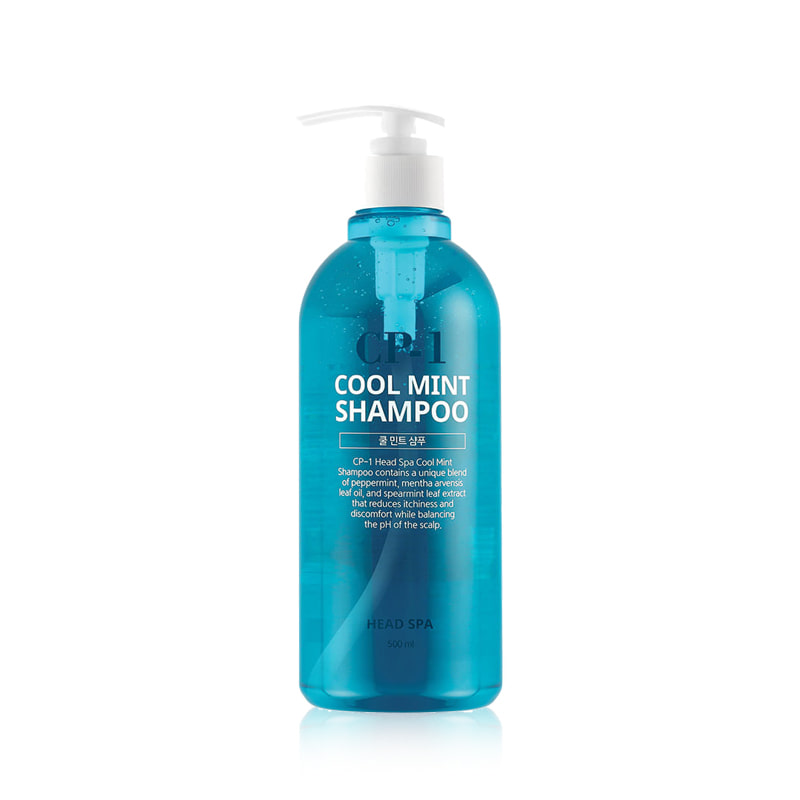 Own label brand, [CP-1] Cool Mint Shampoo 500ml (Weight : 606g)