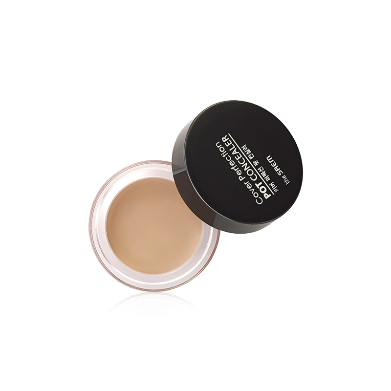 Own label brand, [THE SAEM] Cover Perfection Pot Concealer 4g 2 Color (Weight : 26g)
