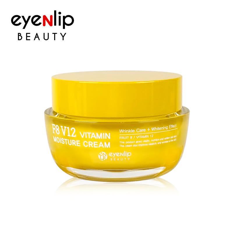 [EYENLIP] F8 V12 Vitamin Moisture Cream 50g (Weight : 182g)