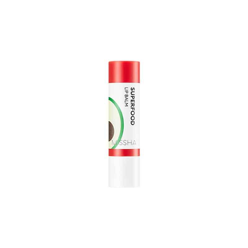 Own label brand, [MISSHA] Superfood Avocado Lip Balm 3.2g (Weight : 20g)