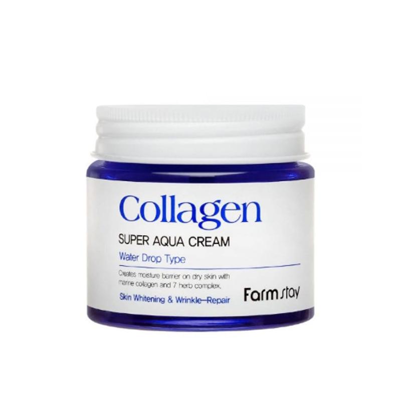 Own label brand, [FARM STAY] Collagen Super Aqua Cream 80ml (Weight : 250g)