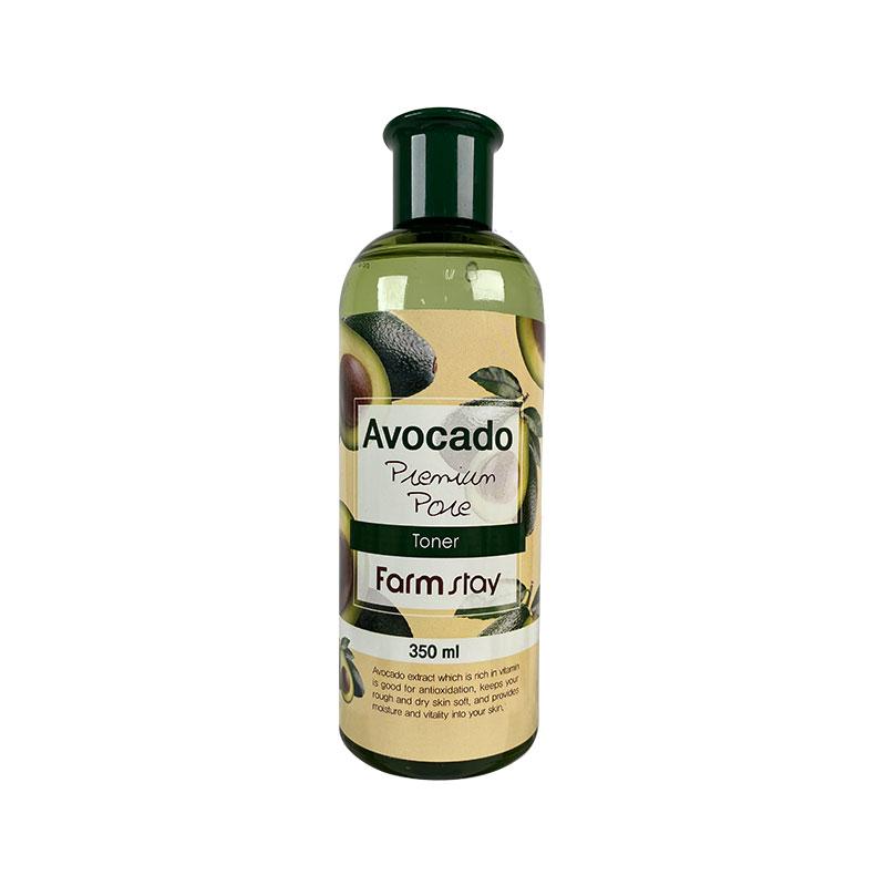 Own label brand, [FARM STAY] Avocado Premium Pore Toner 350ml (Weight : 406g)