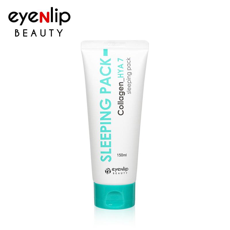 Own label brand, [EYENLIP] Collagen_HYA 7 Sleeping Pack 150ml (Weight : 202g)