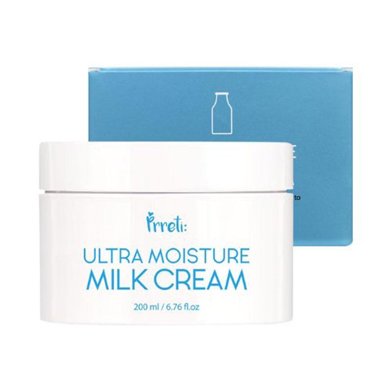 Own label brand, [PRRETI] Ultra Moisture Milk Cream 200ml (Weight : 303g)
