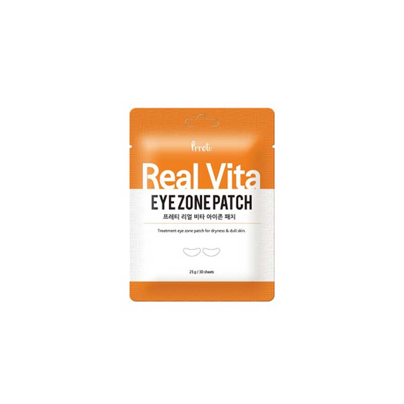 Own label brand, [PRRETI] Real Vita Eye Zone Patch 25g (30sheets) (Weight : 34g)