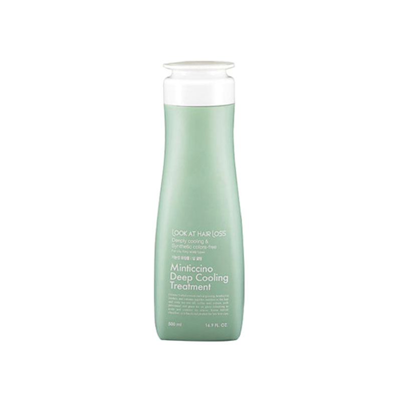 Own label brand, [DAENG GI MEO RI] Look At Hair Loss Minticcino Deep Cooling Treatment 500ml (Weight : 591g)