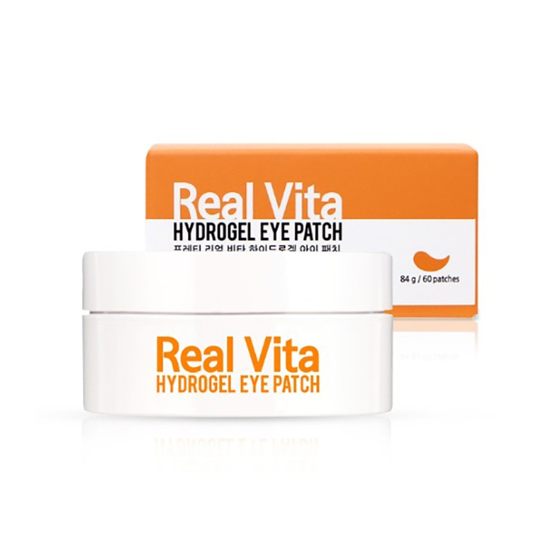 Own label brand, [PRRETI] Real Vita Hydrogel Eye Patch 84g (60sheets) (Weight : 190g)
