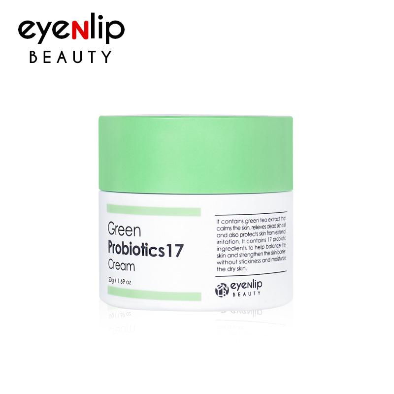 Own label brand, [EYENLIP] Green Probiotics 17 Cream 50g (Weight : 142g)