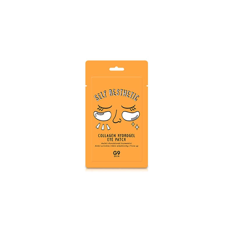 Own label brand, [G9SKIN] Self Aesthetic Collagen Hydrogel Eye Patch 3g (Weight : 9g)