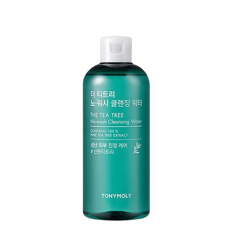 [TONYMOLY] The Tea Tree No-Wash Cleansing Water 300ml (Weight : 354g)