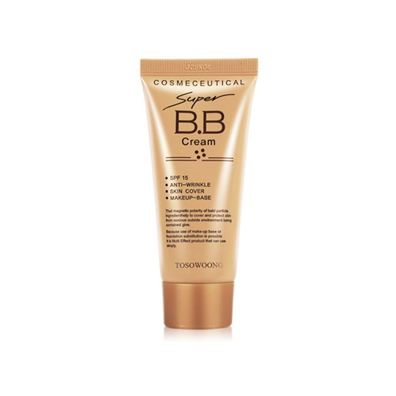 Own label brand, [TOSOWOONG] Super BB Cream 50ml (Weight : 81g)