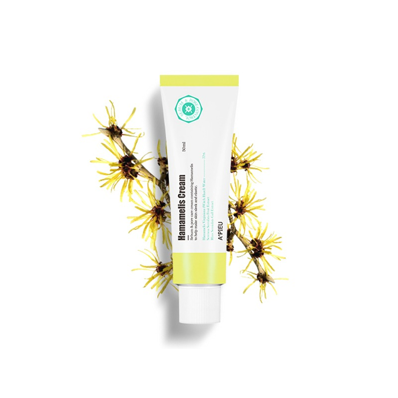 Own label brand, [A'PIEU] Hamamelis Cream 50ml (Weight : 77g)