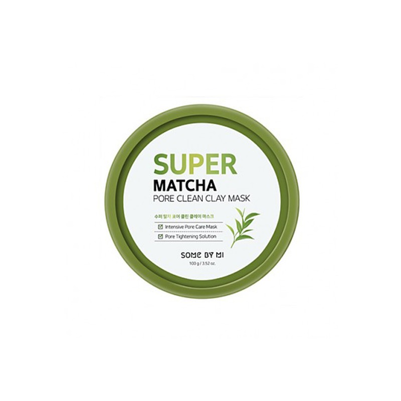 Own label brand, [SOME BY MI] Super Matcha Pore Clean Clay Mask 100g (Weight : 166g)