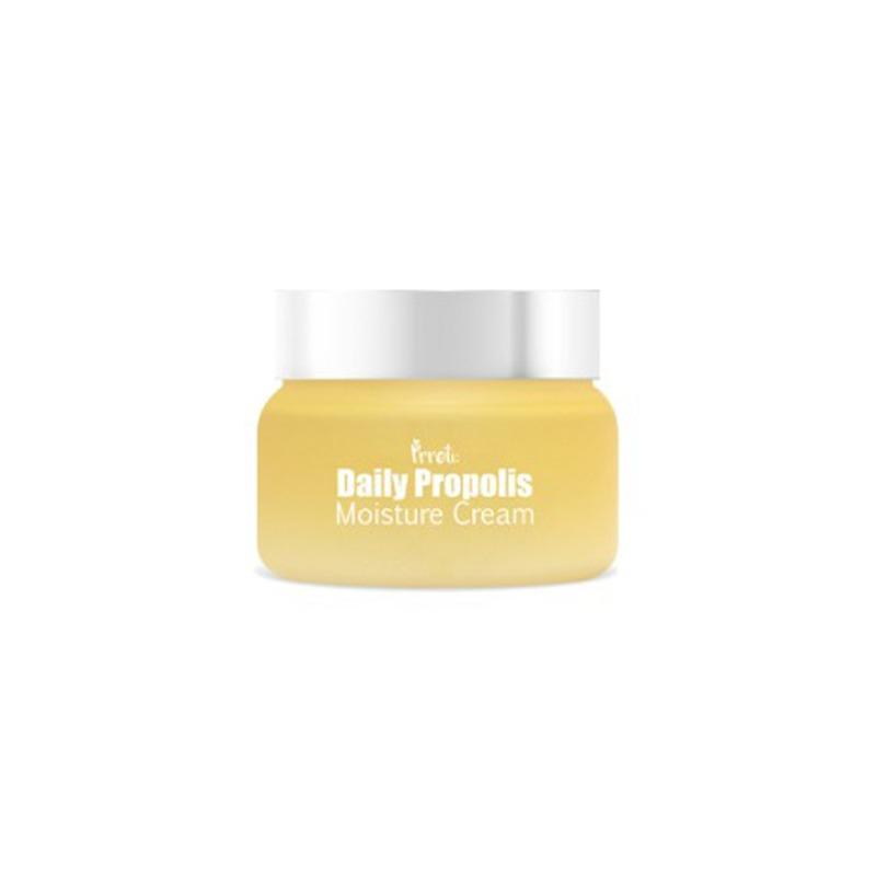 Own label brand, [PRRETI] Daily Propolis Moisture Cream 100ml (Weight : 173g)