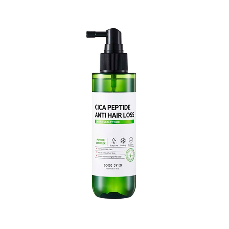 Own label brand, [SOME BY MI] Cica Peptide Anti Hair Loss Derma Scalp Tonic 150ml (Weight : 203g)