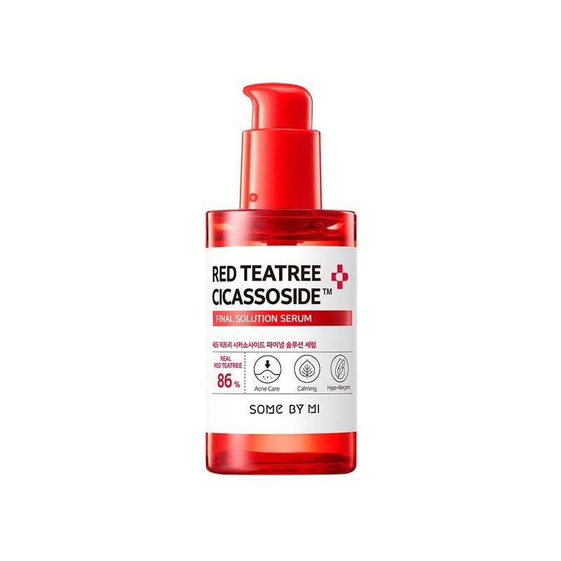 Own label brand, [SOME BY MI] Red Teatree Cicassoside Derma Solution Serum 50ml (Weight : 117g)