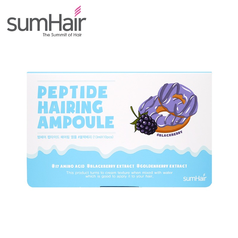 Own label brand, [SUMHAIR] Peptide Hairing Ampoule 13ml * 10pcs (Weight : 224g)