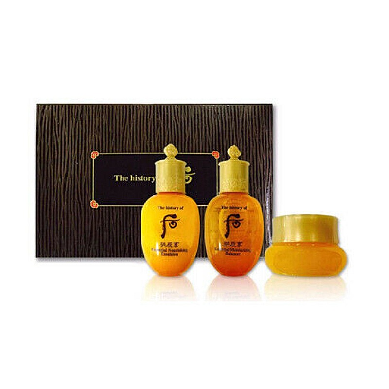 Own label brand, [WHOO] Gongjinhyang 3pcs Special Gift Kit (Weight : 111g)
