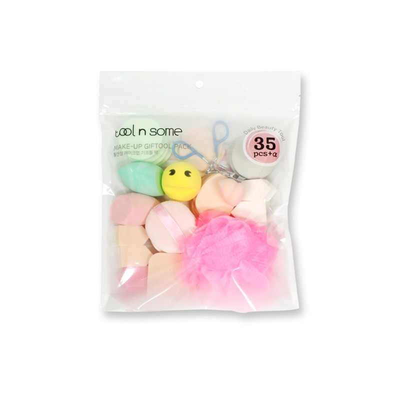 Own label brand, [TOOL N SOME] Make-Up Giftool Pack 35pcs (Weight : 160g)