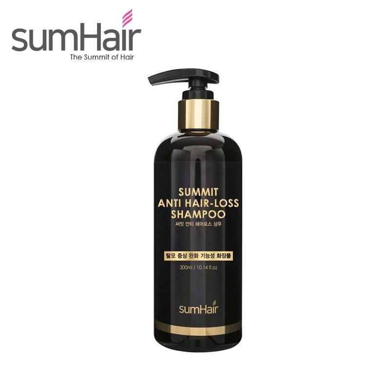 Own label brand, [SUMHAIR] Summit Anti Hair-Loss Shampoo 300ml (Weight : 391g)