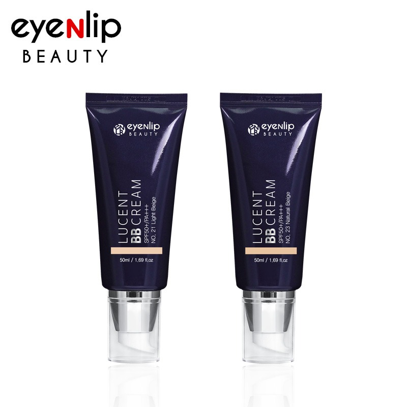 Own label brand, [EYENLIP] Lucent BB Cream 50ml 2 Color (SPF50+/PA+++) (Weight : 88g)