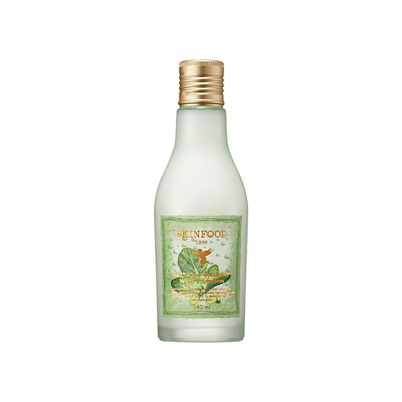 Own label brand, [SKINFOOD] Lettuce & Cucumber Watery Emulsion 140ml (Weight : 231g)