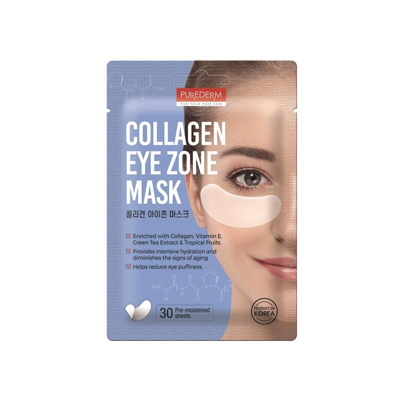 [PUREDERM] Collagen Eye Zone Mask 30 sheets (Weight : 34g)