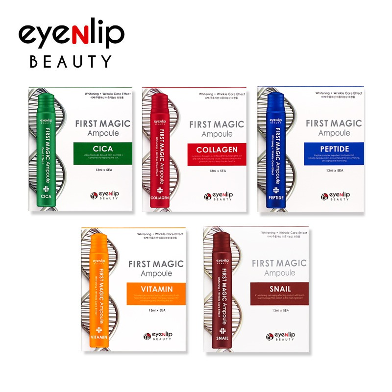 Own label brand, [EYENLIP] First Magic Ampoule 13ml * 5pcs (1BOX) Pride Of Product's Quality 5 Type  (Weight : 110g)