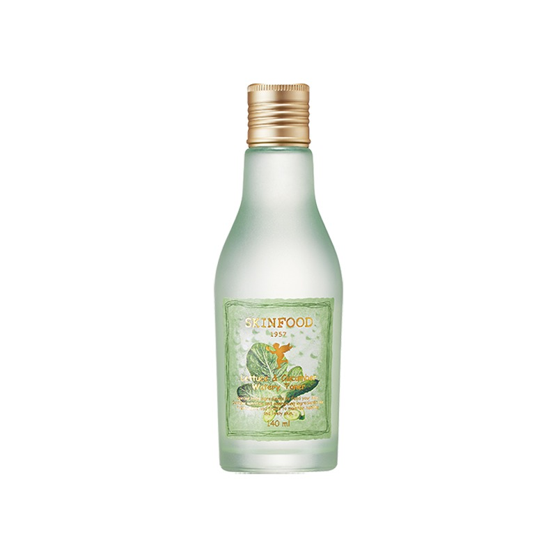 Own label brand, [SKINFOOD] Lettuce & Cucumber Watery Toner 140ml (Weight : 252g)